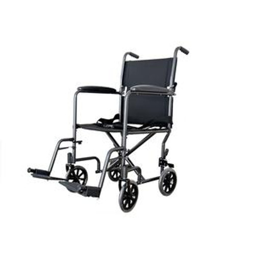"19"" Lightweight Steel Transport Chair"