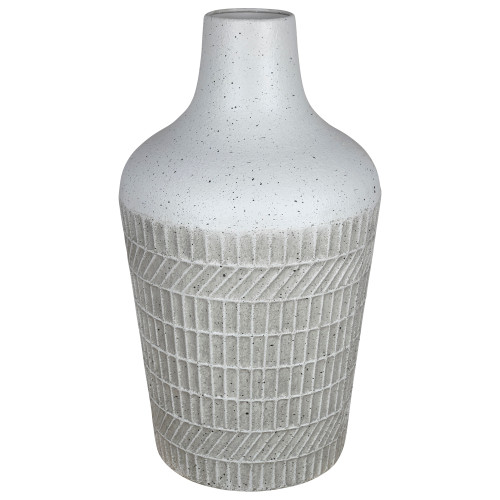 Speckled and Textured Vase