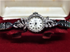 Vintage Omega 18ct White Gold, Diamond Set, c.1965