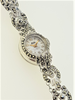 Vintage Hafis Marcasite Cocktail Watch With Original Box c.1950's