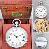 Poljot deck watch with original box.