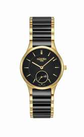 Ladies Roamer Black Ceramic and Gold PVD 677855485560