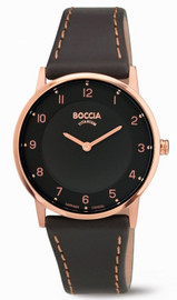 Boccia Rose Gold Titanium Ladies Watch 3254-03