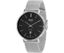 Boccia Royce Men's Watch with Mesh Bracelet 3589-07