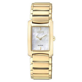 Citizen Eco-Drive Watch with Mother Of Pearl Dial EG2973-55D