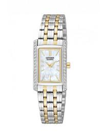 Citizen Swarovski Crystal Set Woman's Watch  EK1124-54D