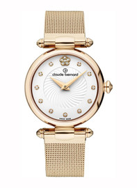 Claude Bernard Dress Code Ladies Watch 20500 37J APD2