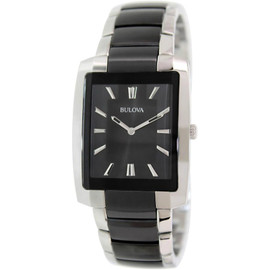 Bulova Men's Classic Collection with Curved Case 98A117