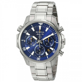 Bulova Gents Quartz Marine Star Chronograph 96B256 SOLD