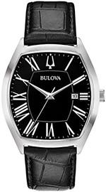 Bulova Classic Watch with a Tonneau Shaped Case 96B290