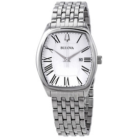 Bulova Ladies Classic Collection Watch with Tonneau-Shaped Case 96M145