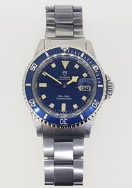 "Vintage Tudor ""Snowflake"" Oysterdate Submariner 94110"