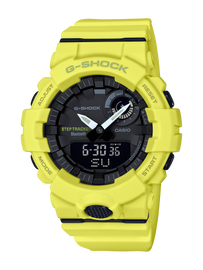 Casio G-Shock G-Squad Neon Yellow GBA-800-9A