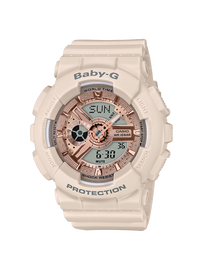 Casio Baby-G Baby Pink Analog-Digital Watch BA-110CP-4A