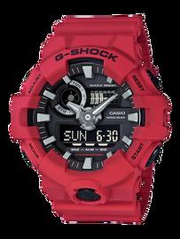 Casio G-Shock Red & Black Analog-Digital Watch GA-700-4A