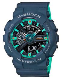 Casio G-Shock Navy Blue Accents Series GA110CC-2A