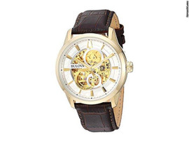 Bulova Sutton Automatic Skeleton Dial 97A138