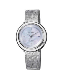 Citizen Ladies Diamond Set Dress Watch EM0640-82D