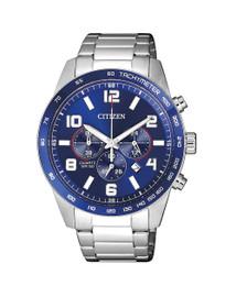 Citizen Gents Chronograph Blue Dial Watch AN8161-50L