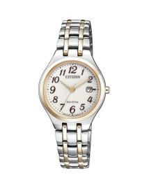 Citizen Ladies Dress White Dial Watch EW2486-87A