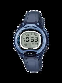 Casio Digital  Blue LW-203-2AV
