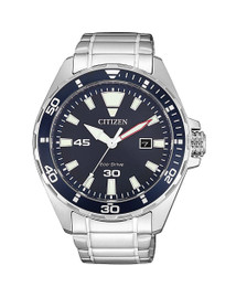 Gents Stainless Steel Citizen Eco-Drive BM7450-81L