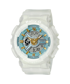 Casio Baby-G Duo Sea Glass Series Clear BA-110SC-7A