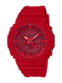 Casio G-Shock Slim Duo Red GA-2100-4ADR