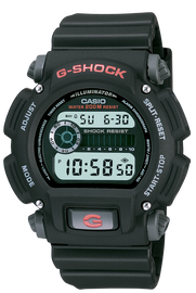 Casio G-Shock Black Digital Watch DW-9052-1