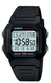 Casio Black Digital W-800H-1AV