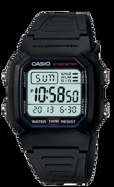 Casio Black Digital W-800H-1AV