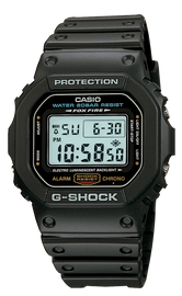 Casio G-Shock Black Digital DW-5600E-1V
