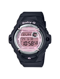 Casio Baby-G Black & Pink Digital Watch BG-169M-1DR