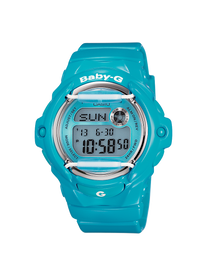 Casio Baby-G Aqua Blue Digital Watch BG-169R-2B