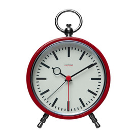Cloudnola Factory Red Station Alarm Clock 0120