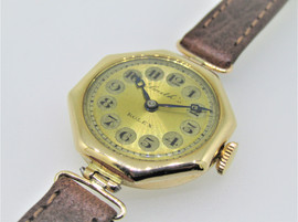 Vintage Rolex with 9ct gold case