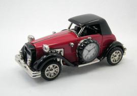 Collectable Vintage Car Clock CC3480RD