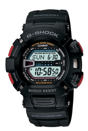 Casio Gents G-Shock Quartz Mudman G9000-1V