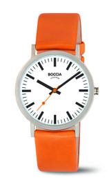 Boccia Midsize Titanium Quartz Watch 3651-05 SOLD