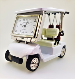 Collectable Golf Cart Clock CC3570RD