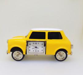 Collectable Mini Cooper Car Clock CC3267YL