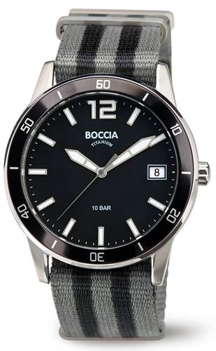 Boccia Titanium Sports Watch With Nato Strap 3594-01