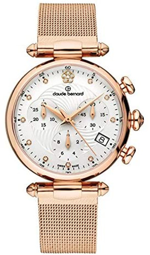 Claude Bernard Dress Code Ladies Chronograph 10216 37R APR2