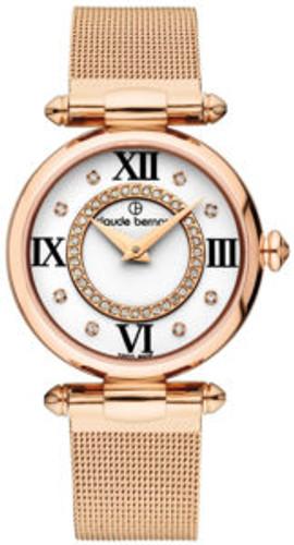 Claude Bernard Yellow PVD Plated Ladies Watch 20500 37R APR1