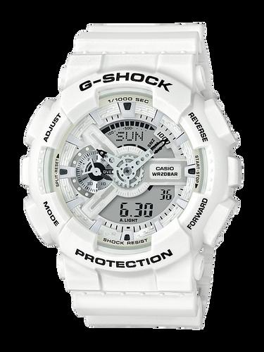 Casio G-Shock Marine Series White Watch GA-110MW-7A