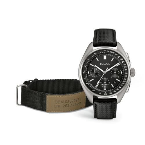 Bulova Special Edition Lunar Pilot Chronograph Watch 96B251