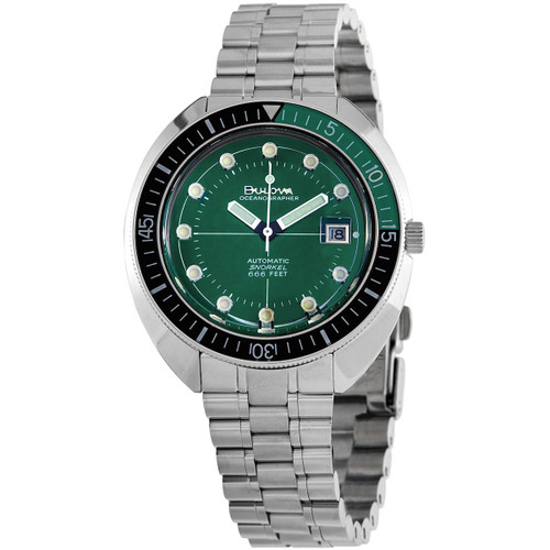 Bulova Oceanographer Automatic Divers Watch 96B322