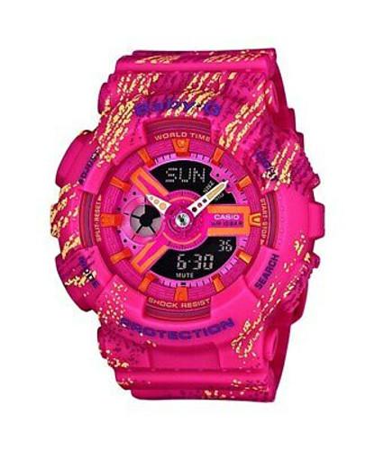 Casio Baby-G Vivid Pop Pink Watch BA110TX-4A