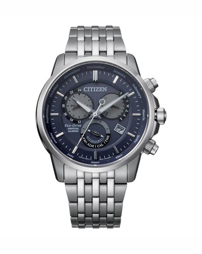 Gents Citizen Stainless Steel Eco-Drive Chronograph BL8150-86L