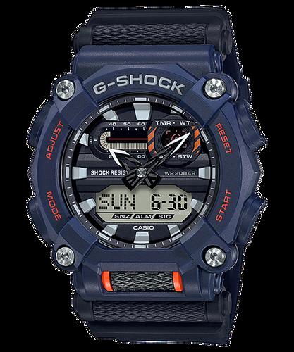 Casio G-Shock Navy and Orange Duo Watch GA-900-2A